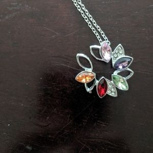 Beautiful and colorful necklace